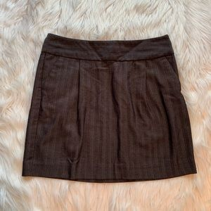 Old Navy A-Line Mini Skirt Dark Gray